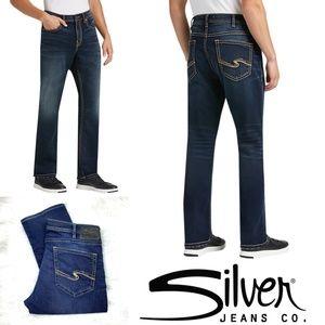 👖NWOT |•SILVER•| Grayson Straight 36x31👖